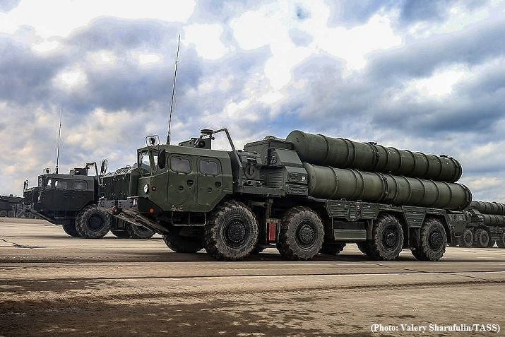 Turkish defense ministry confirms receiving aircraft with S-400 parts