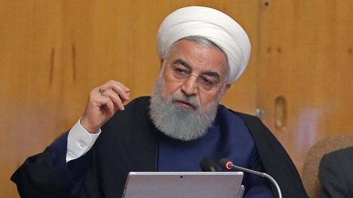 President Rouhani 'ready to negotiate' with US if sanctions are removed