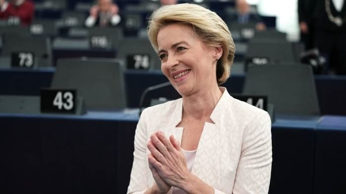 Von der Leyen secures approval of EU executive top job