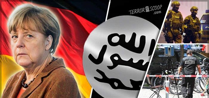 German police search apartments of Islamic extremists