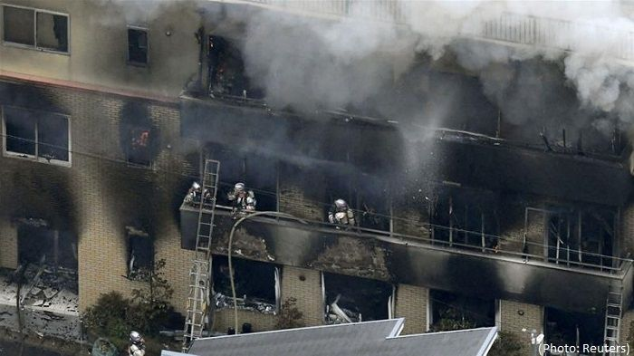 At least 12 dead in Japan studio attack