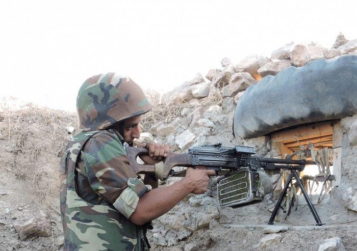 Azerbaijan`s Defense Ministry: Armenian armed units violated ceasefire 25 times