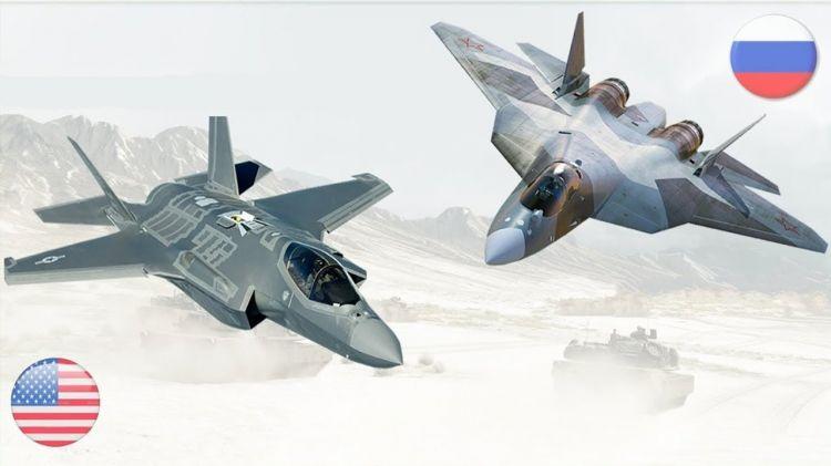 ABŞ-dan hərbi təyyarə ala bilməyən Türkiyə Rusiyaya yönələ bilər - Su-57 güclüdür, yoxsa F-35?
