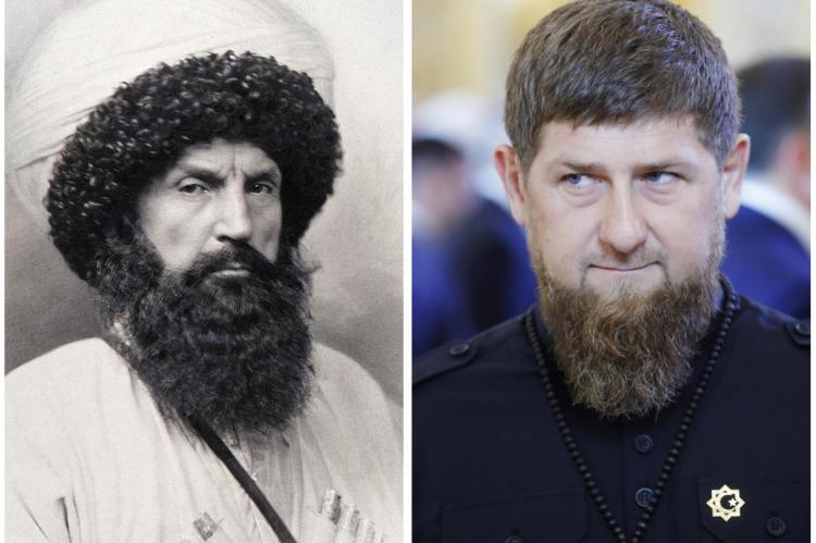"""Kadirov'dan Şeyh Şamil'le ilgili tartışma yaratacak sözler - """"Onun yüzünden Çeçen nüfusu yarıya indi"""""""