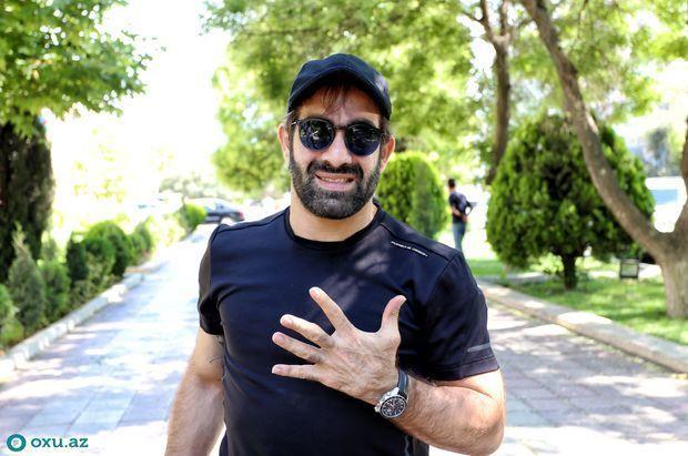 Рафаэль Агаев: Из-за моих успехов армяне здороваются со мной  ФОТО/ВИДЕО