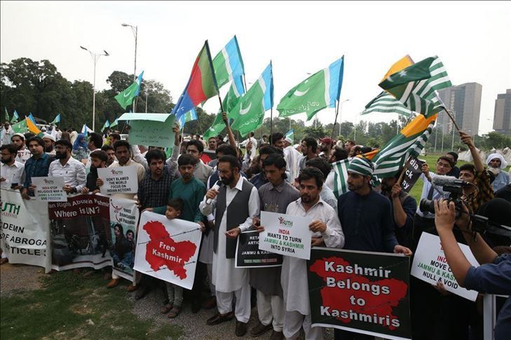 Activist asks Muslim world to come forward for Kashmir   Eurasia Diary
