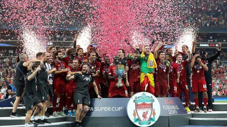 Football - Liverpool win UEFA Super Cup