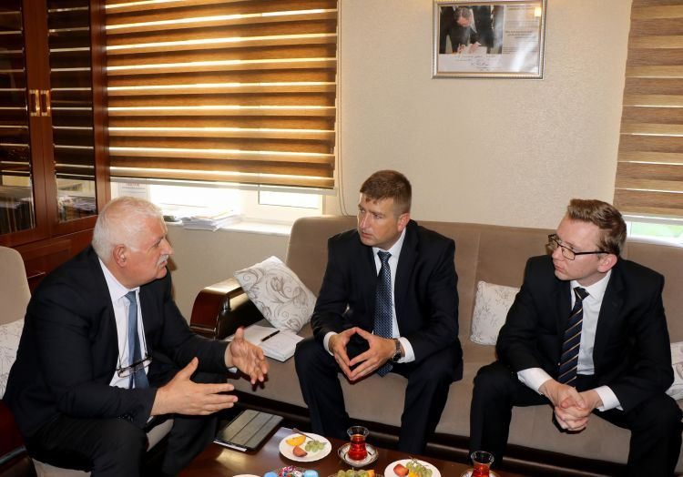 Representatives of the Embassy of Ukraine in Azerbaijan visited IEPF office - PHOTOS