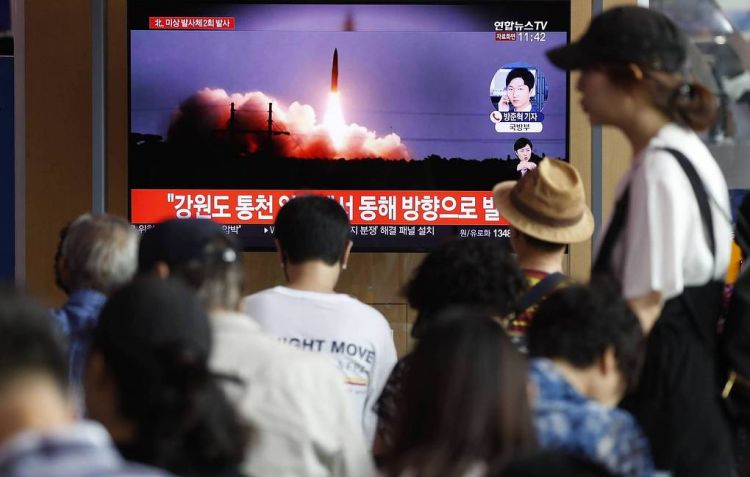 North Korea launches short-range ballistic missiles into the sea — media
