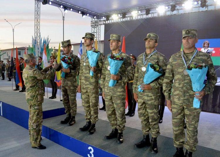 Азербайджанские военные врачи стали третьими на Армейских играх - ФОТО