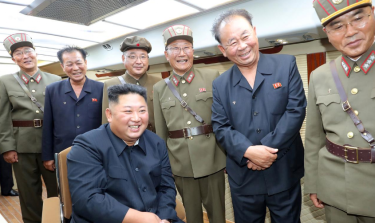 North Korea's Kim oversaw the test-firing of new weapon again - KCNA