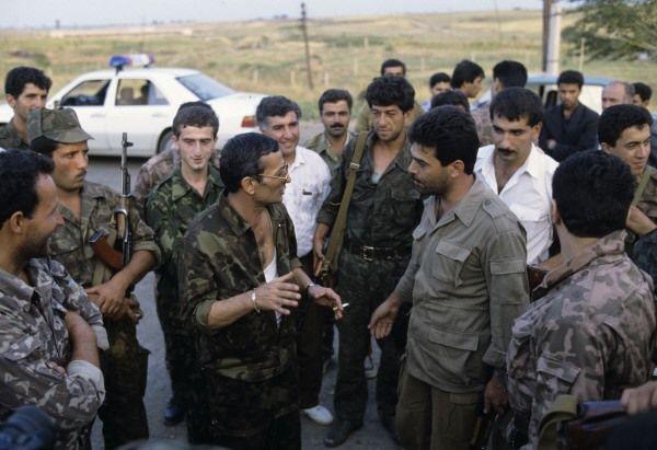 Milli Ordumuz Xankəndinə girməyə hazırlaşırdı - Bir şəklin tarixçəsi - Foto