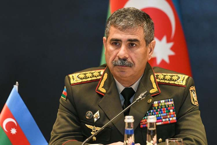 """The results gained at the Army Games - an indicator of the high level of training of our army"" - Zakir Hasanov"