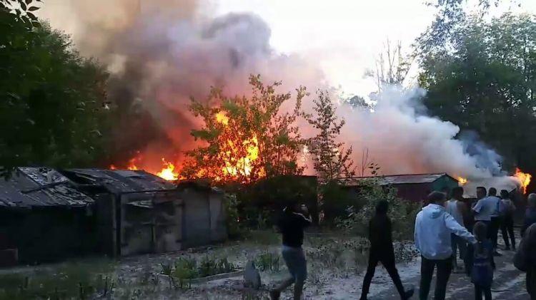 Шокирующие детали пожара в Шамкире: поджог совершил бывший глава семьи (обновлено)