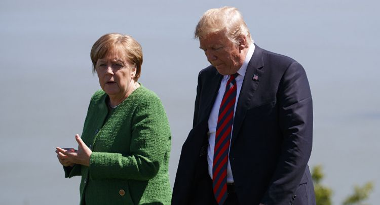 German-US Relations Sink to All-Time Low