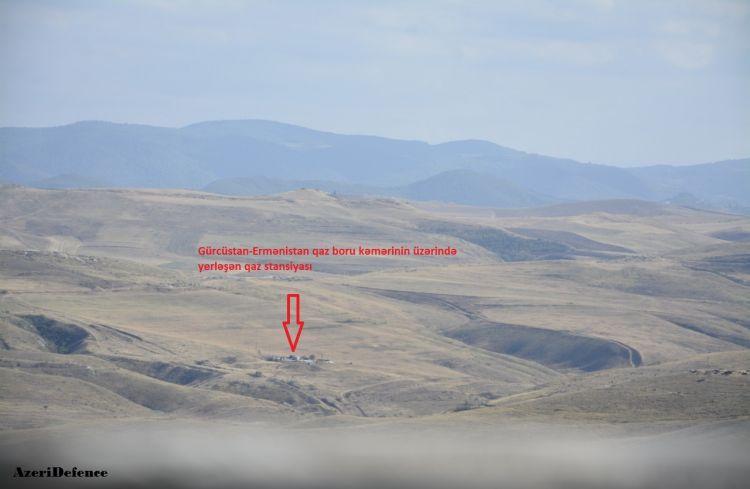 SON DƏQİQƏ - Sərhədçilərimiz Ermənistana gedən qaz kəmərini nəzarətə götürdü + FOTO