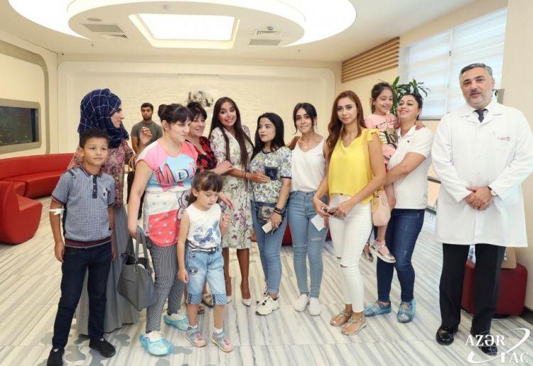 Лейла Алиева посетила ряд медицинских учреждений Баку - ФОТО
