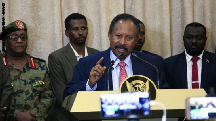 """حمدوك: ملتزم بمعايير """"الحرية والتغيير"""" في اختيار وزراء حكومة السودان.. ونحتاج 10 مليارات دولار"""