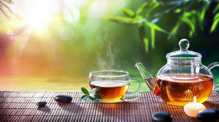 Drinking tea improves brain health