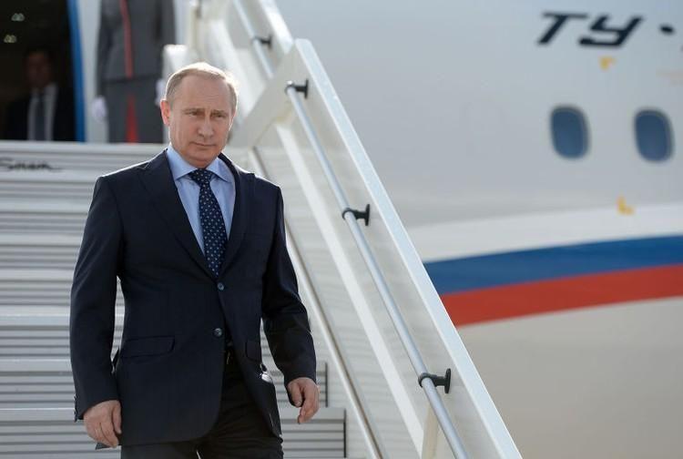 Путин прибыл в Анкару на саммит по Сирии
