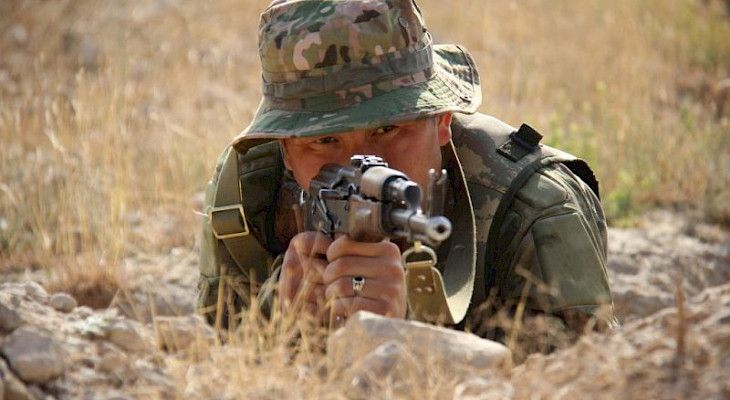 Shooting in Kyrgyz-Tajik border left one soldier dead