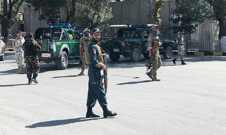 Blast kills 24 at Afghan election rally, aide says president unhurt