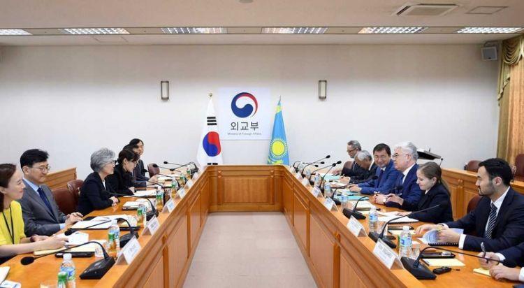 Kazakhstan, South Korea vow to boost cooperation