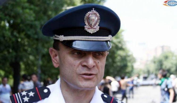 Пашиняна покинул начальник армянской полиции Осипян