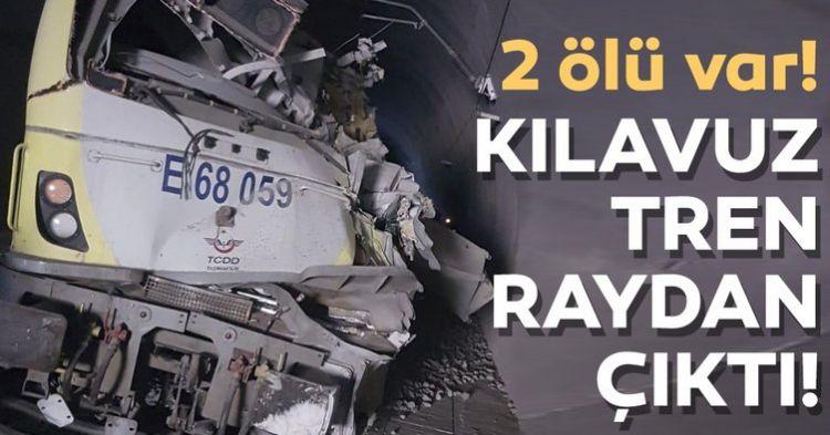 SON DAKİKA! Ankara'dan yola çıkan yüksek hızlı tren raydan çıktı: - 2 ölü - VİDEO