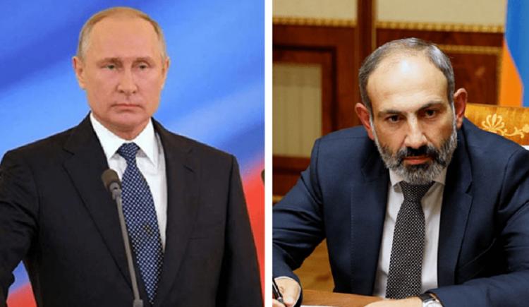 Putindən Paşinyana ŞOK zərbə - Diplomatiyada belə hala rast gəlinməmişdi...