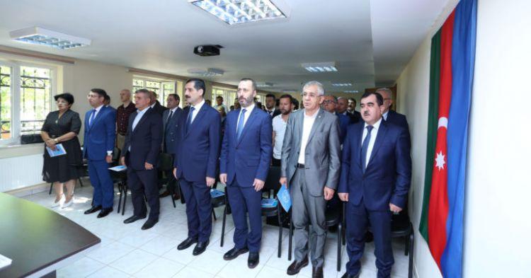 Bakü'de Ahmet Ağaoğlu'nun doğumunun 150. yılı dolayısıyla konferans düzenlendi - FOTO GALERİg