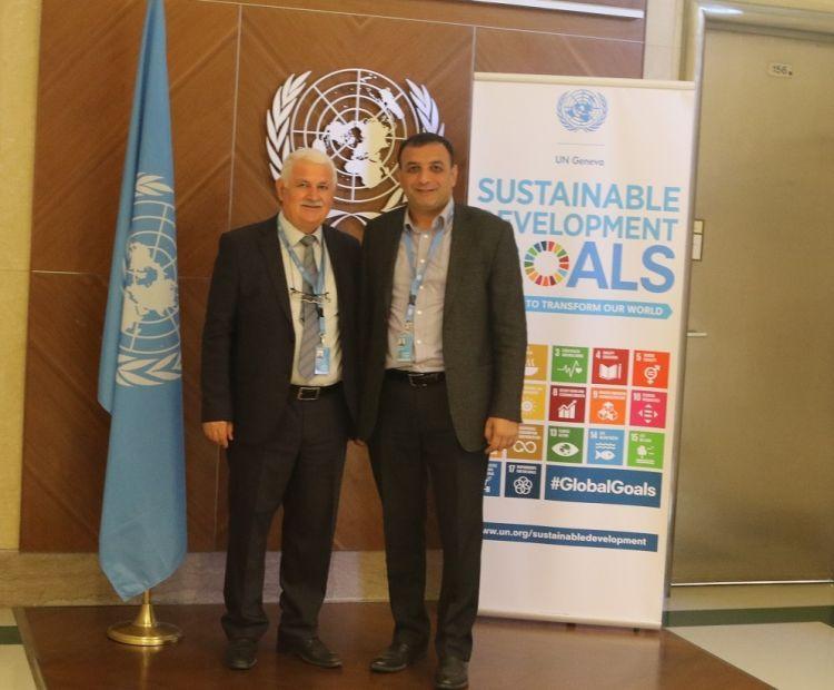 مؤسسة أوراسيا الدولية للصحافة تبدأ باتصالاتها في مجلس حقوق الإنسان للأمم المتحدة - صور