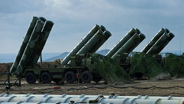 Rusiya S 400-ün sınaq atışlarının görüntüsünü paylaşdı - VİDEO