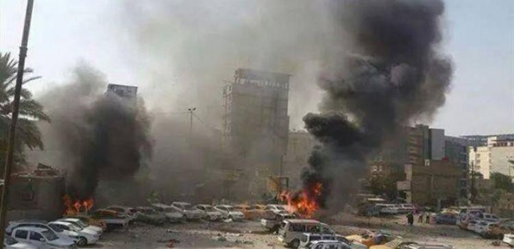مقتل 11 شخصاً في إنفجار استهدف سيارة نقل ركاب في كربلاء