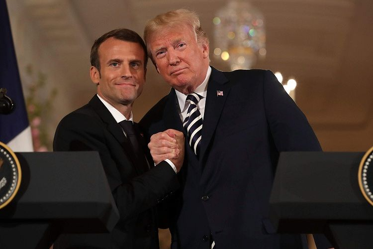 Macron told Trump about ending 'Operation Peace Spring'