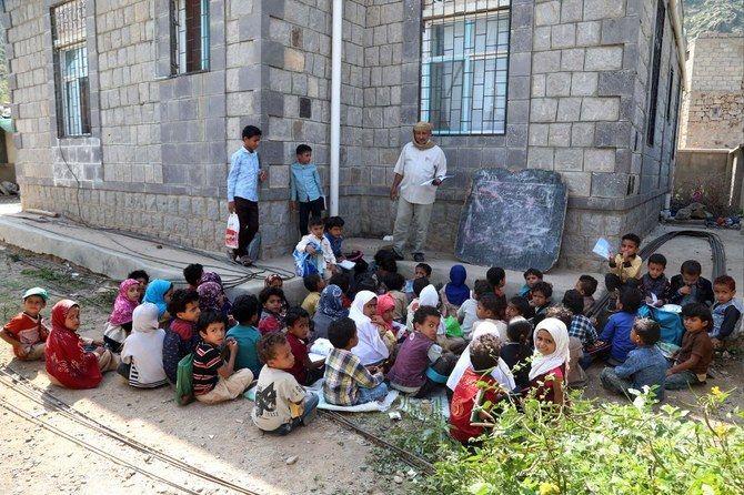 Yemen denounces Qatar Charity financing Houthi-produced school books