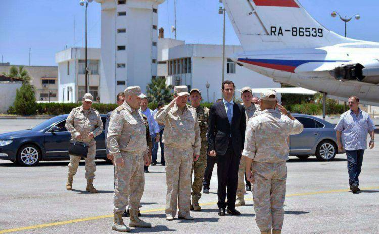 Reuters сообщило о переговорах курдов с Дамаском на российской военной базе