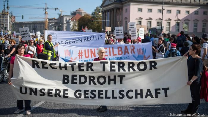 В Берлине прошла крупная акция против антисемитизма и расизма