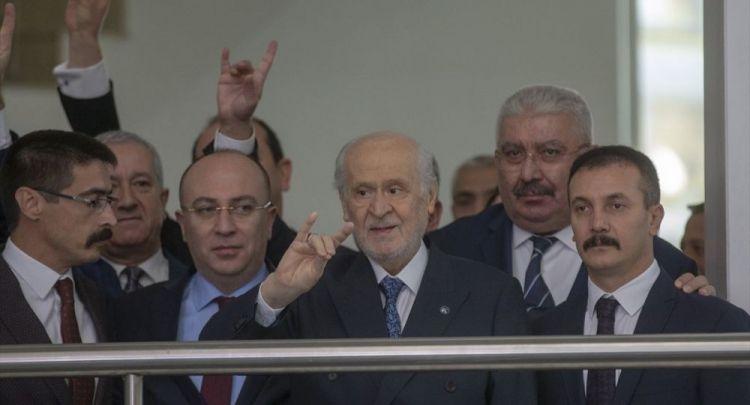 Devlet Bahçeli 3 hafta aradan sonra siyasi arenaya geri döndü - VİDEO