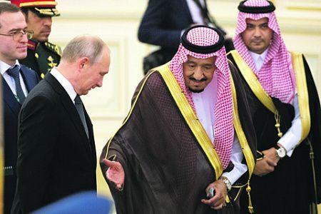 Путин привез в Эр-Рияд птицу высокого полета