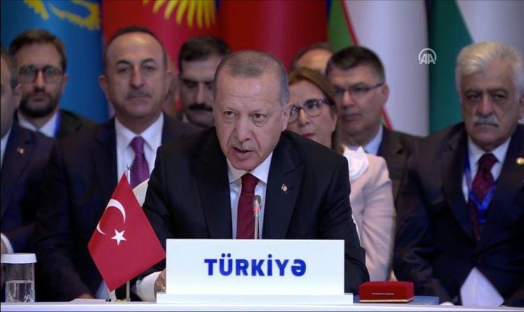 Cumhurbaşkanı Erdoğan, Türk Konseyi 7. Zirvesi'nde konuştu - VİDEO
