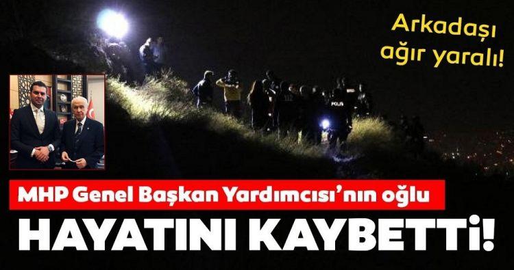 SON DAKİKA! MHP Genel Başkan Yardımcısının oğlu hayatını kaybetti!