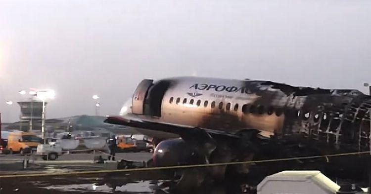 Названа причина смерти большинства пассажиров в сгоревшем SSJ-100 в Шереметьево
