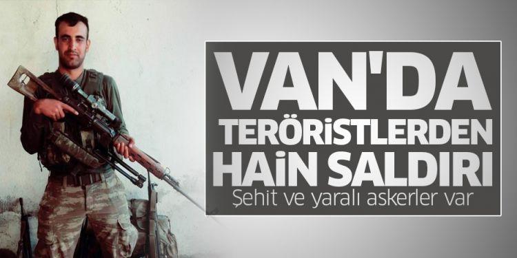 Van'da teröristlerden hain saldırı! - Şehidimiz var