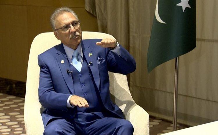 """Pakistan Cumhurbaşkanı Arif Alvi: - """"Katılmama Harekatında Dağlık Karabağ ve Keşmir sorunu müzakere edilmeli"""""""