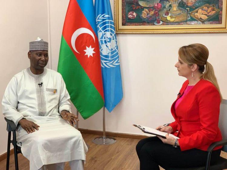 Нагорно-Карабахский конфликт должен быть разрешён - Президент ГА ООН Тиджани Мухаммад-Банде - ВИДЕО