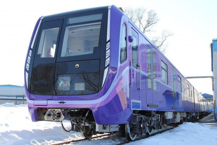 В ближайшие три года в Баку доставят 12 новых составов метро