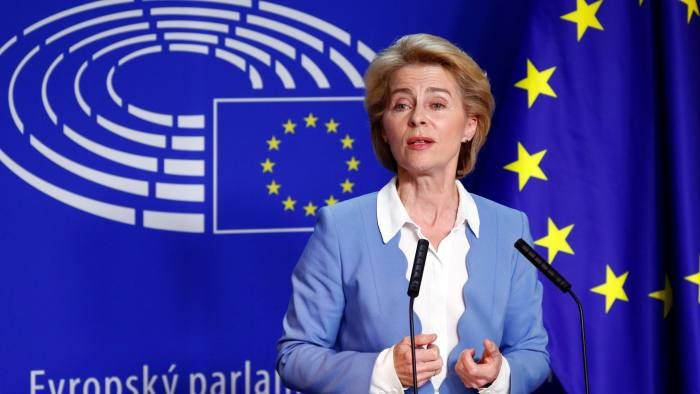 Europe must also learn the language of power - von der Leyen