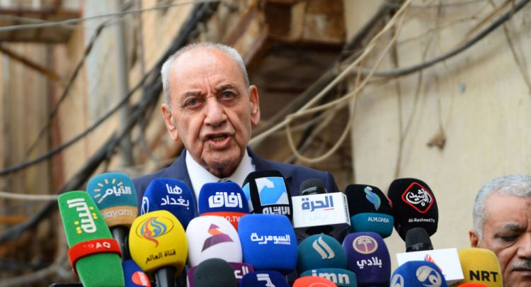 بري يدعو إلى تشكيل حكومة لبنانية جامعة لا تستثني الحراك الشعبي