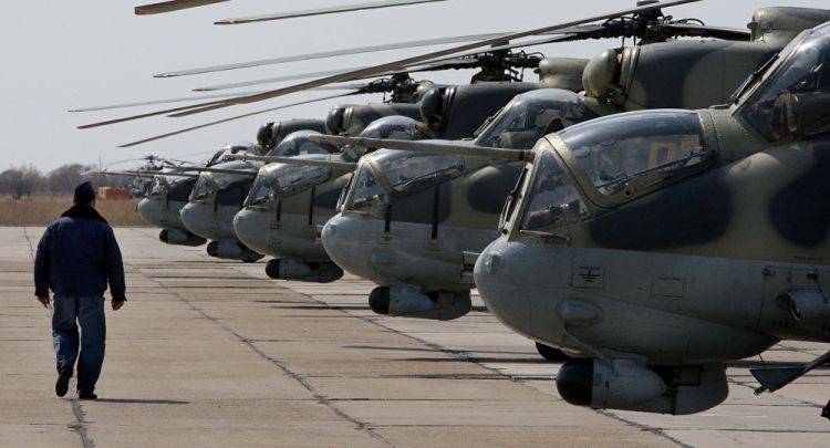 Russia takes control by lunching helicopter base in N.Syria